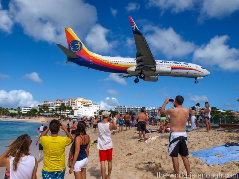Saint Martin Island, Maho Beach
