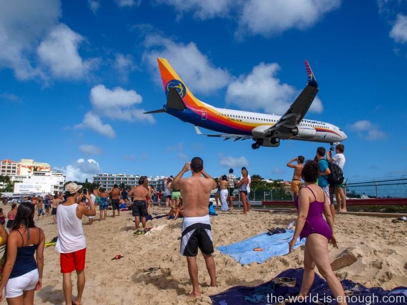 Sint Maartin Island, Maho Beach