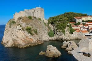 Крепостные стены Дубровника