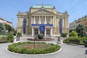 Croatian National Theatre Ivan pl. Zajc in Rijeka
