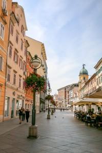 Rijeka Korzo Street