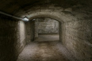Croatia, Rijeka, city tunnel-bomb shelter