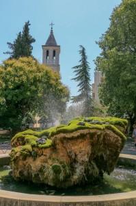 "Šibenik, The church of ""Gospe van grada"" (''Our Lady Out of Town'')"