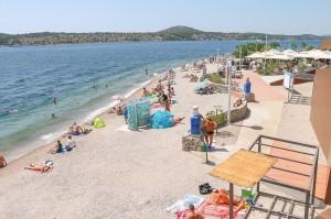 Šibenik, local beach