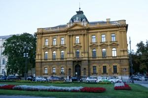 Zagreb Republic of Croatia Square, Croatian School Museum (1889)