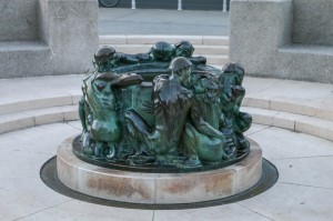 Zagreb Republic of Croatia Square, The Well of Life (1905)