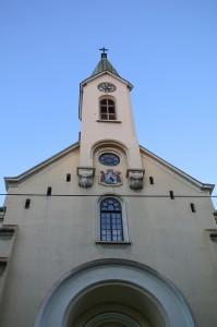 Zagreb Night, Church of St. Vincent de Paul