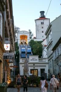 Zagreb Night, Funicular
