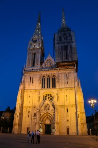 Zagreb Night, The Zagreb Cathedral