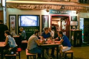 Zagreb Night Tkalčićeva Street, Pivnica Mali Medo