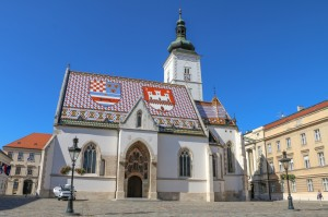 Zagreb St. Mark`s Church