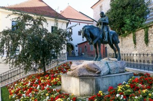 Zagreb St George Statue at Radiceva Street