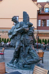 Zagreb Zagreb Dolac Market, Statue of Petrica Kerempuh