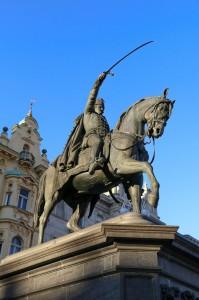 Zagreb Ban Jelačić Square, Ban Jelačić Monument