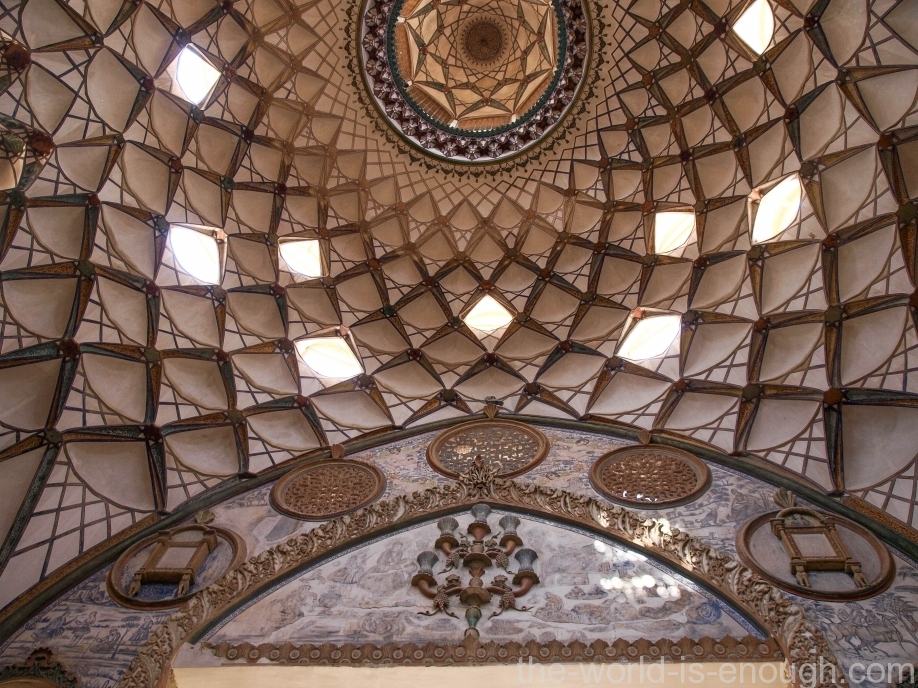 The Borujerdi House, Kashan, Iran, Дом Боужерди, Кашан, Иран