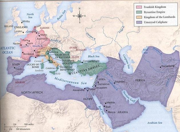 Арабский халифат династии Омейадов