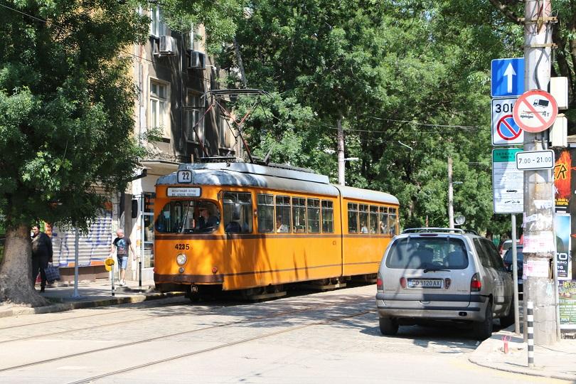 Old Sofian tram