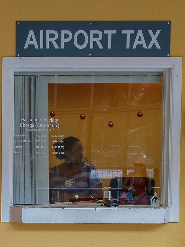 Aeroport Tax Curacao