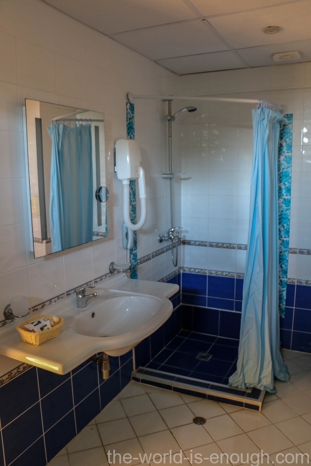 Ванная комната номера А31 отеля Арсена, Несебр