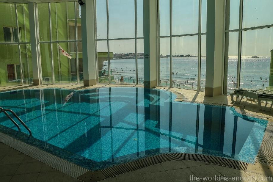 Закрытый бассейн в СПА отеля Арсена, Несебр