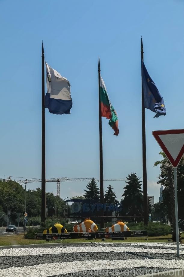 Въезд в Бургас, Болгария
