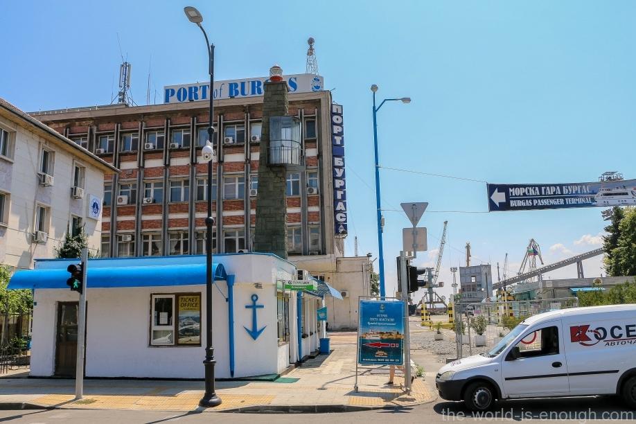 Бургас, порт