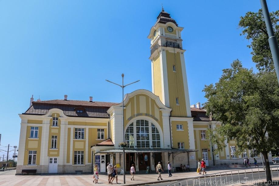 железнодорожный вокзал Бургаса