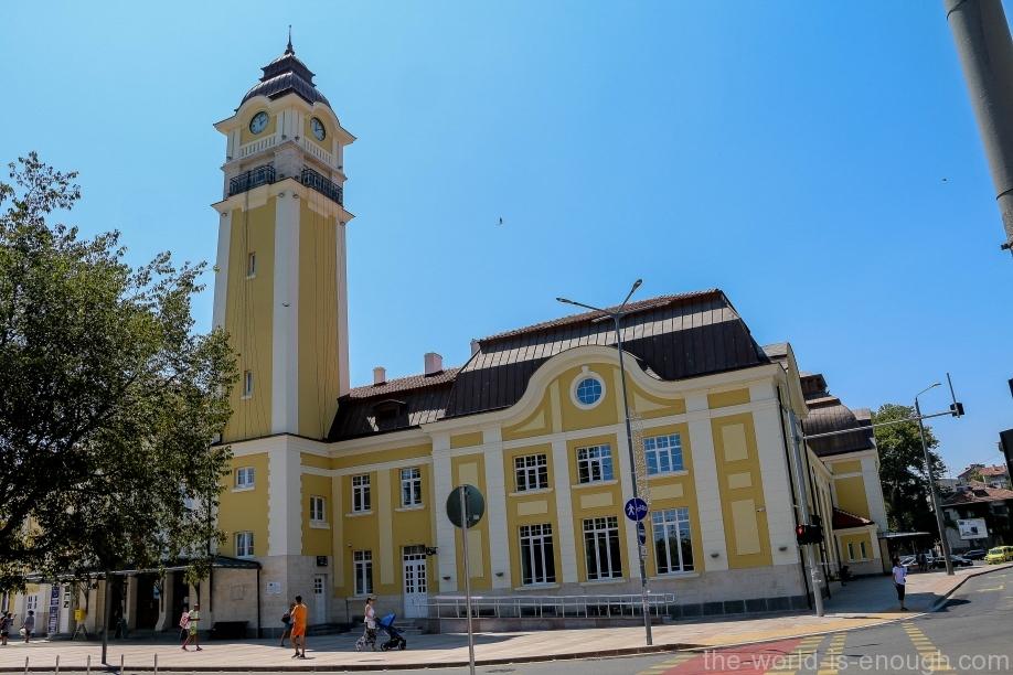 ЖД вокзал Бургаса