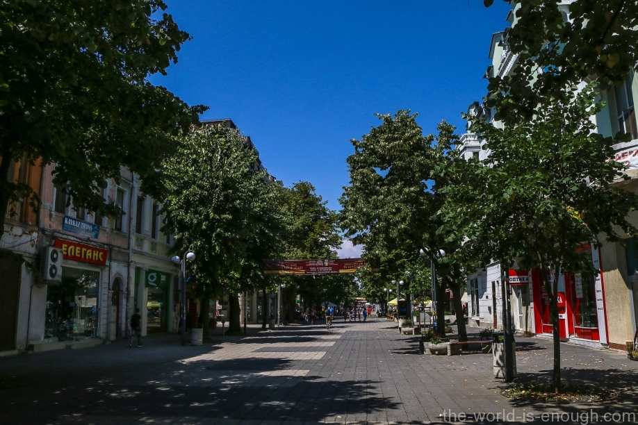 Александровска улица Бургас