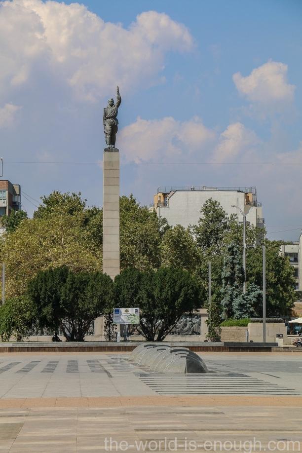 Памятник советским солдатам -