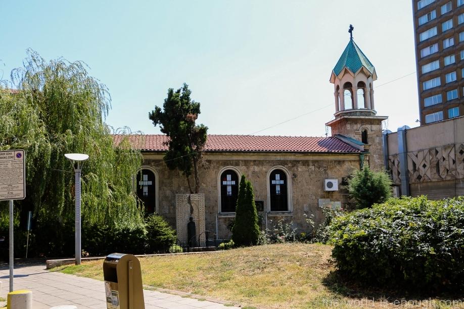 Армянская церковь Святого Креста в Бургасе