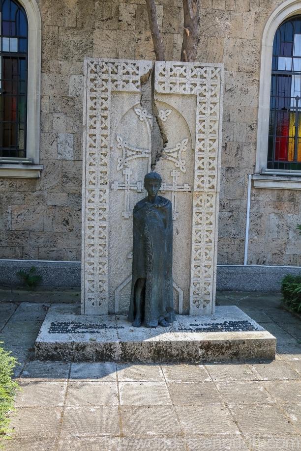 Монумент жертвам геноцида армян в Бургасе