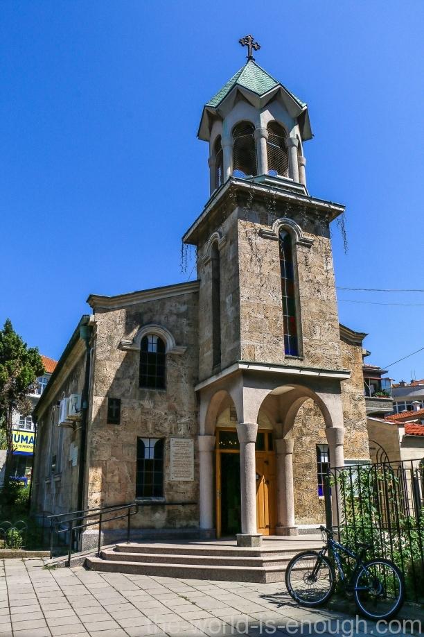 Армянская церковь Святого Креста, Бургас