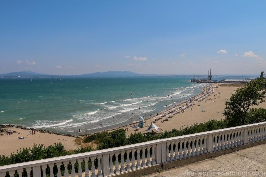 пляж Бургаса