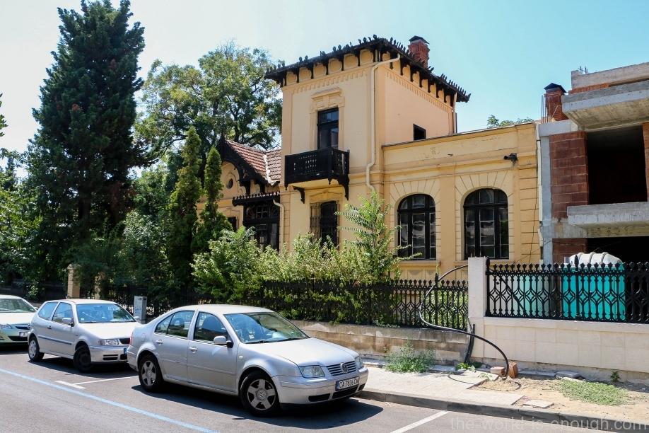 Вилла на ул. Княз Александър Батенберг, Бургас