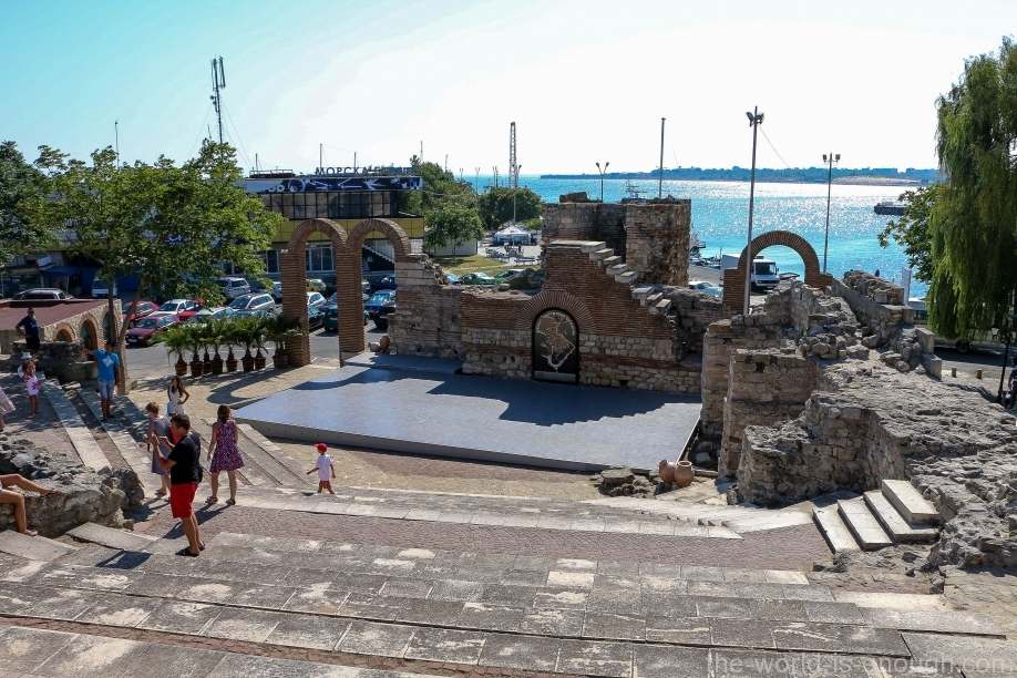 Nessebar Greek theater