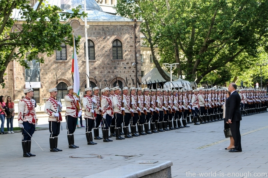 Почетный караул в Болгарии