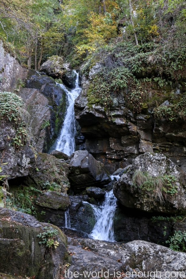 Boyana waterfall track
