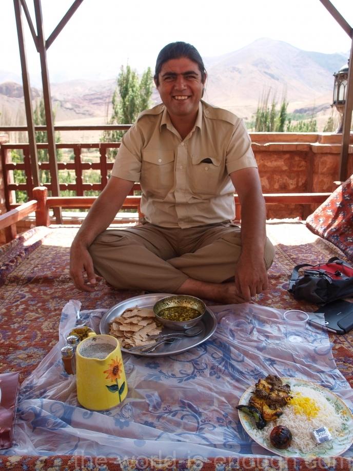 Иран, деревня Абьяни, Viuna Hotel Abyaneh