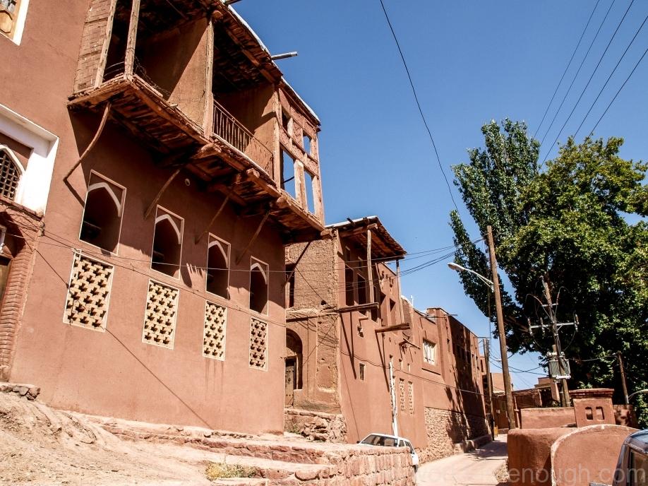 Иран, деревня Абьяни, Abyaneh Street