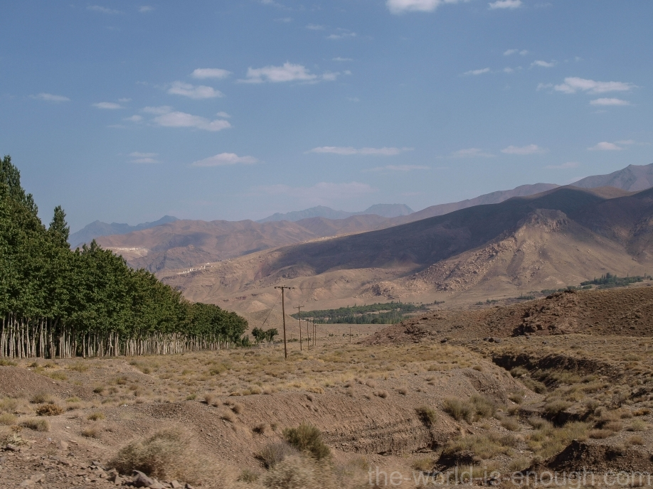 Иран, деревня Абьяни, Abyaneh village