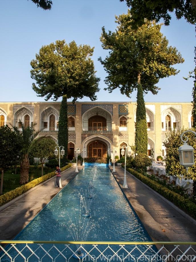 Abbasi Hotel, Исфахан