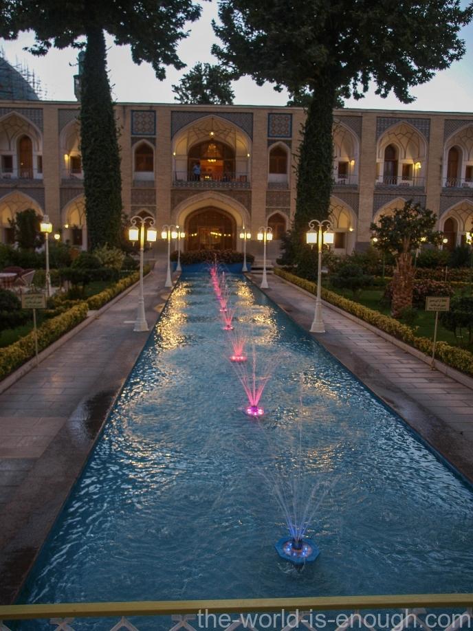 Иран, Исфахан, Abbasi Hotel