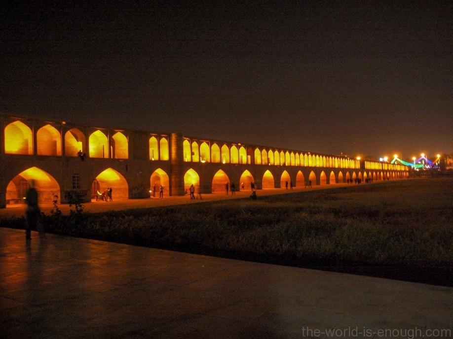 Исфахан, Мост Сио-Се-Поль (мост Тридцати колонн)