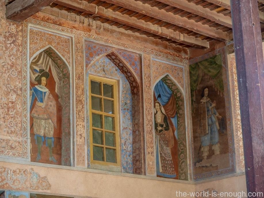 Дворец Чехель Сотун, Исфахан, Иран