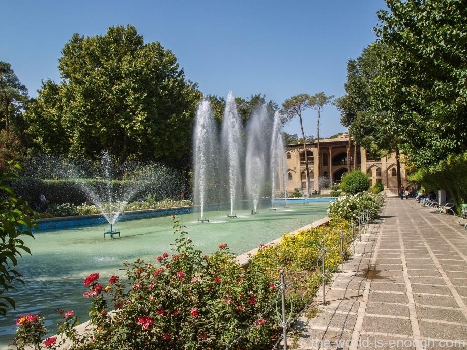 Дворец Хешт-Бехешт, Исфахан, Иран