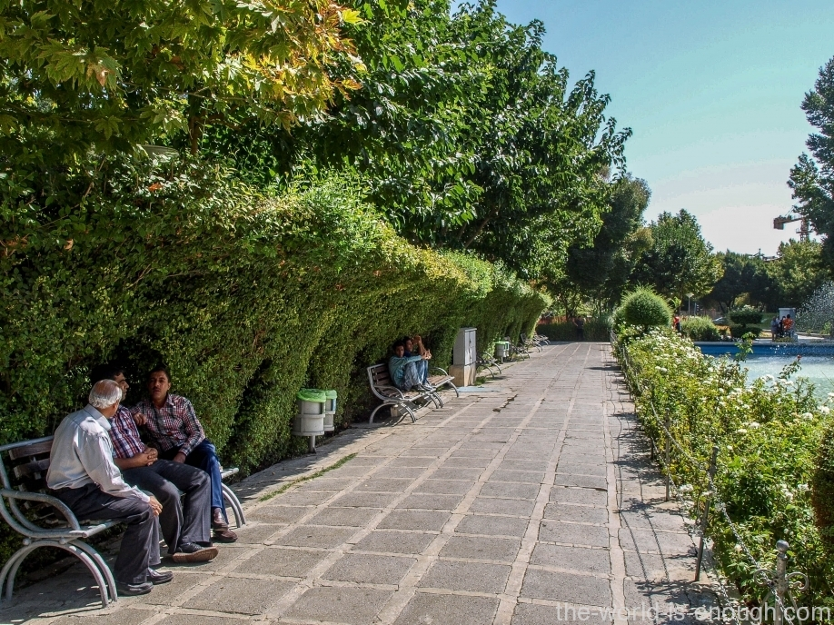 Дворец Шехт-Бехешт, Исфахан, Иран