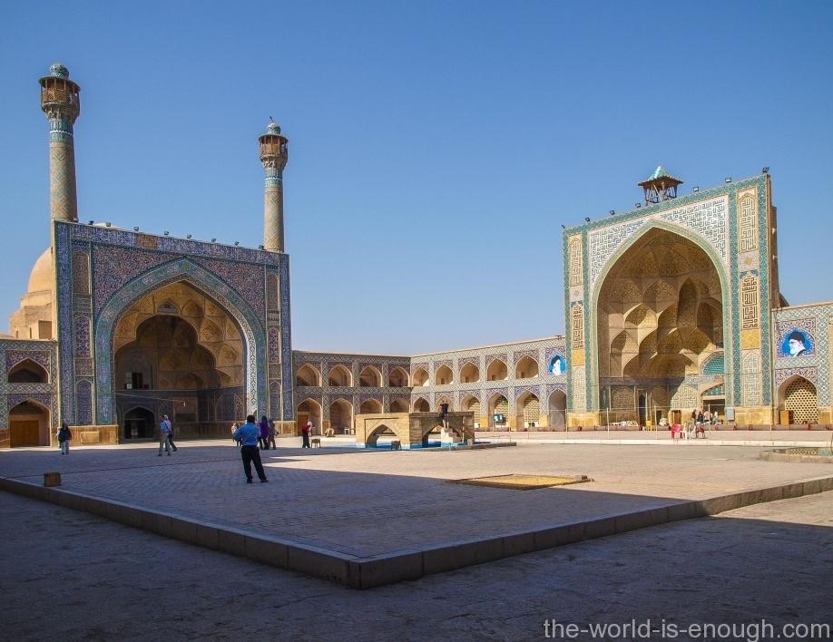 пятничная мечеть Атиг Исфахана, Иран