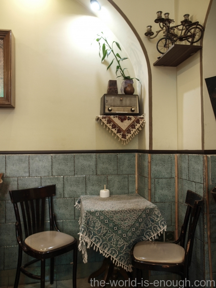 кафе Roozegar Исфахан