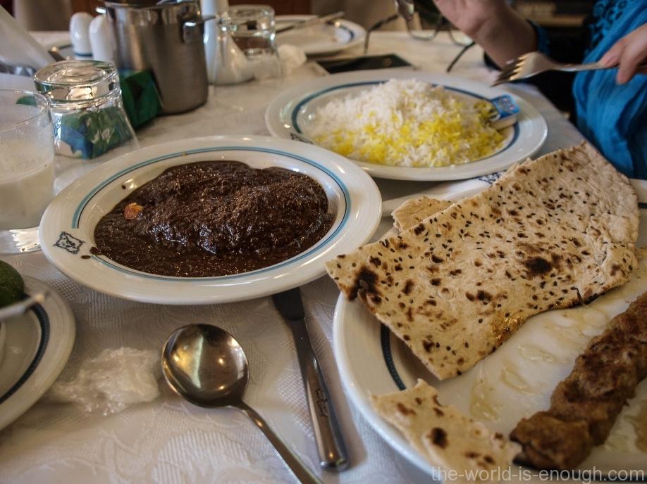 Иран, Исфахан, Restaurant Shahrzad